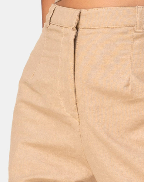 Tanira Trouser in Taupe by Motel