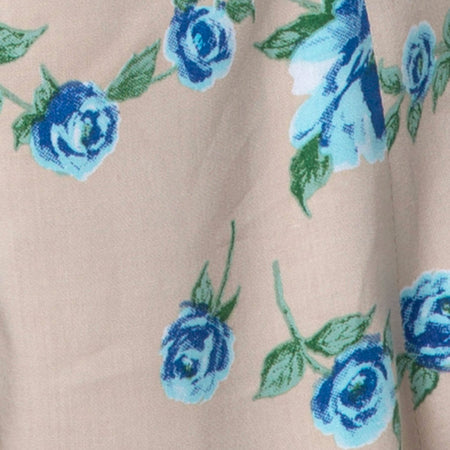 Trisemi Dress in Rose Blossom Blue by Motel