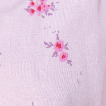 Vacoal Blouse in Forget Me Not Floral Pink by Motel