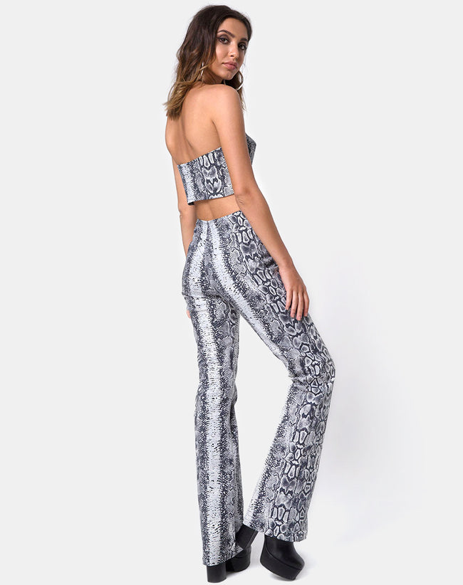 Zolia Trouser in Snake by Motel