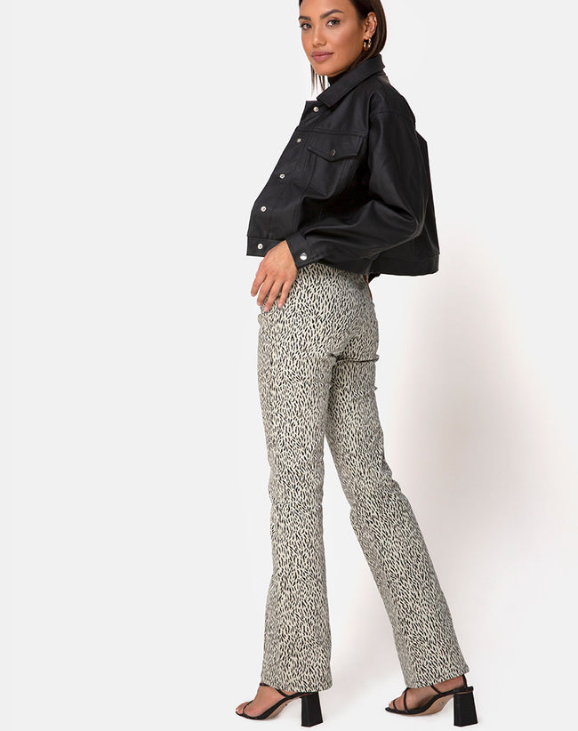 Zoven Trousers in Mini Jaguar by Motel