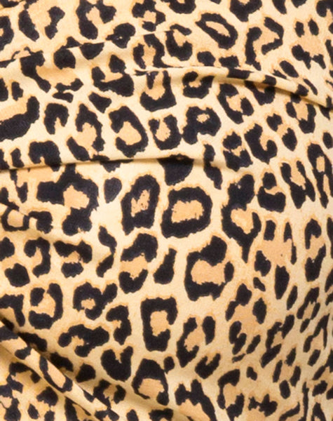 Zuma Crop Top in Rar Leopard by Motel