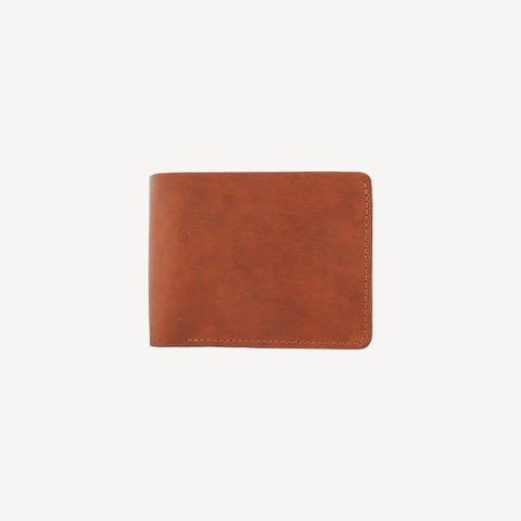 The DELRIDGE™ Bifold Wallet - Cognac