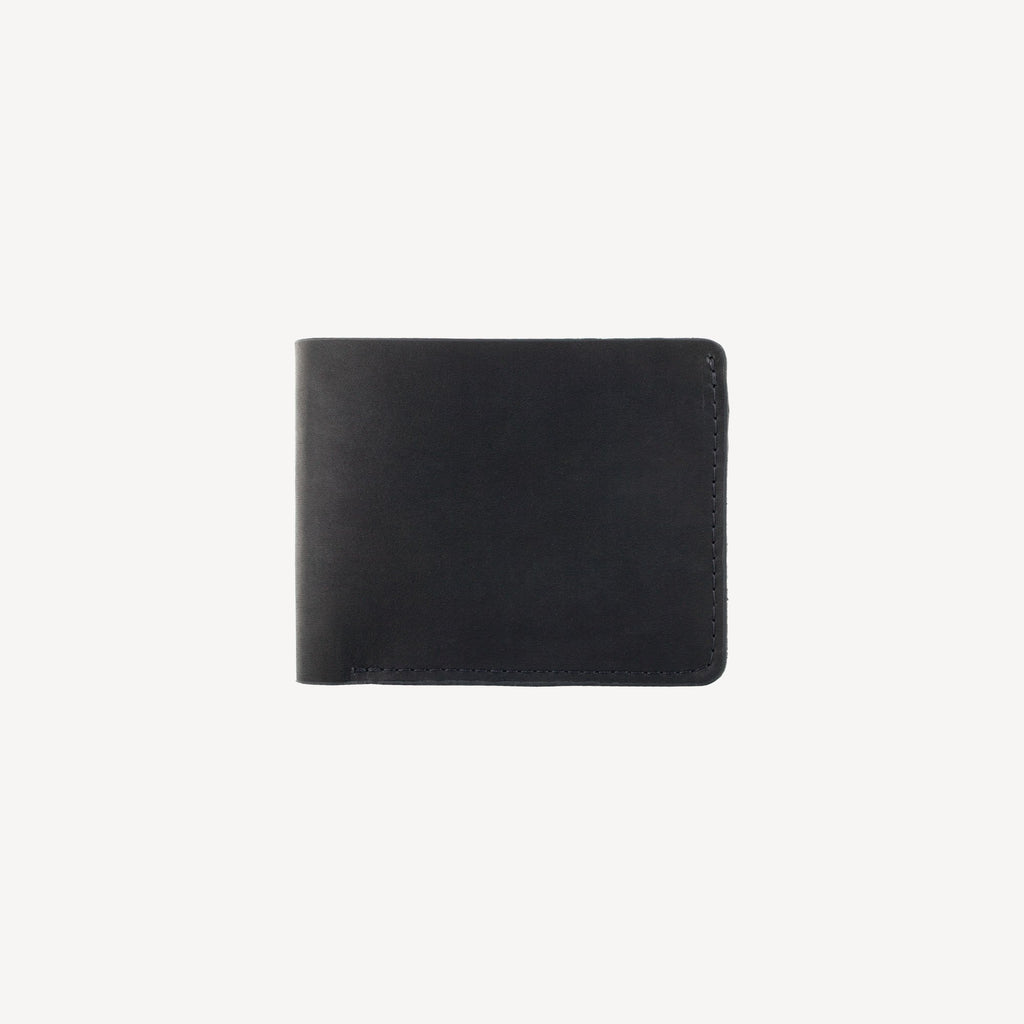 The DELRIDGE™ Bi-fold Wallet - Midnight