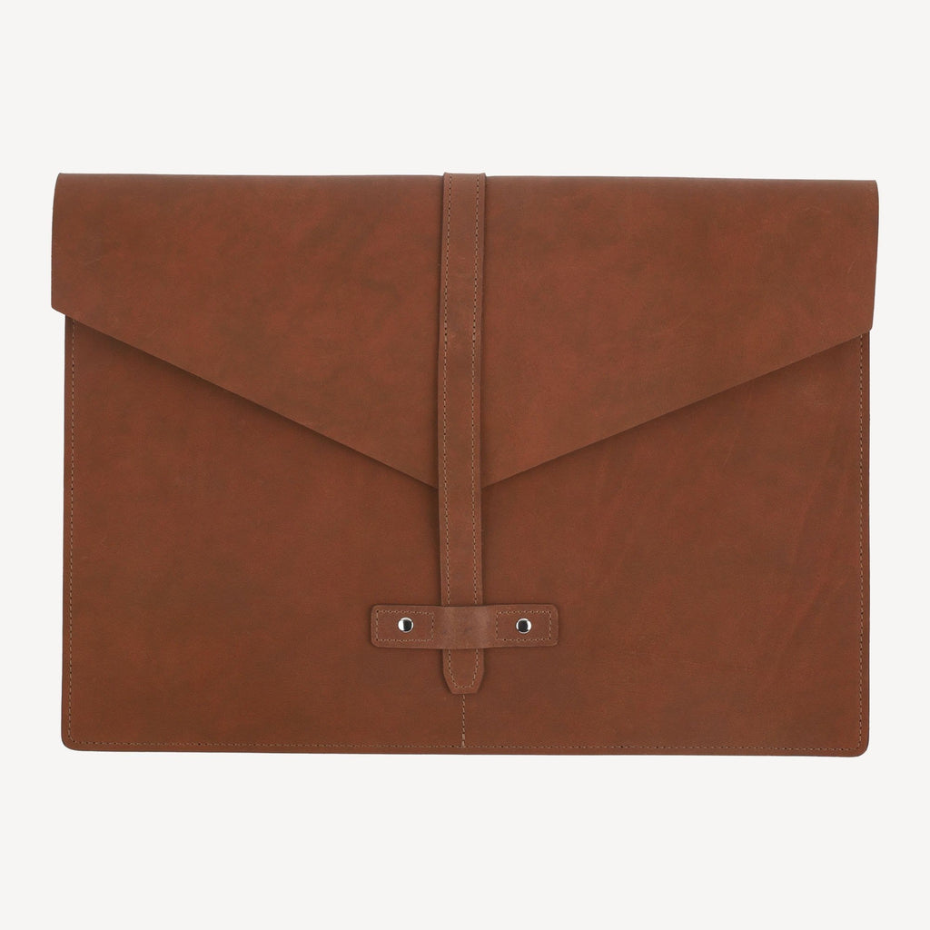 The BELLTOWN™ Laptop Sleeve - Small - Cognac