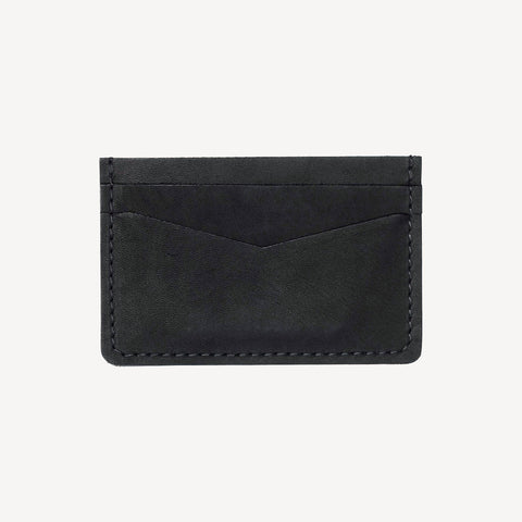 front view of The BAINBRIDGE™ Card Case - Black
