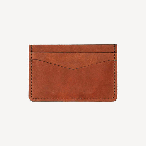 front view of The BAINBRIDGE™ Card Case - Tan