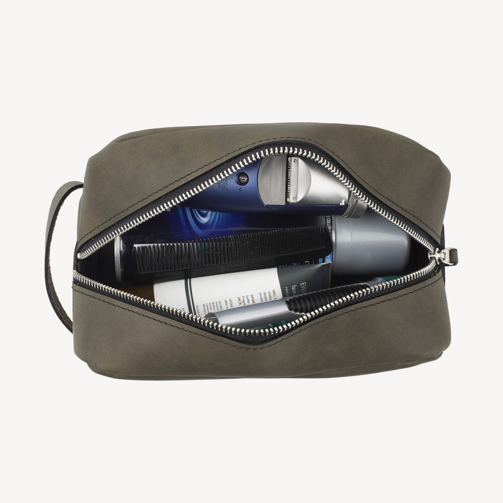 The GREENWOOD™ Dopp Kit - Slate Grey