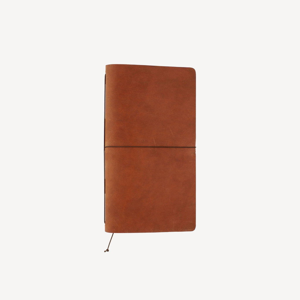 The CRESTWOOD™ Refillable Traveler's Journal - Cognac