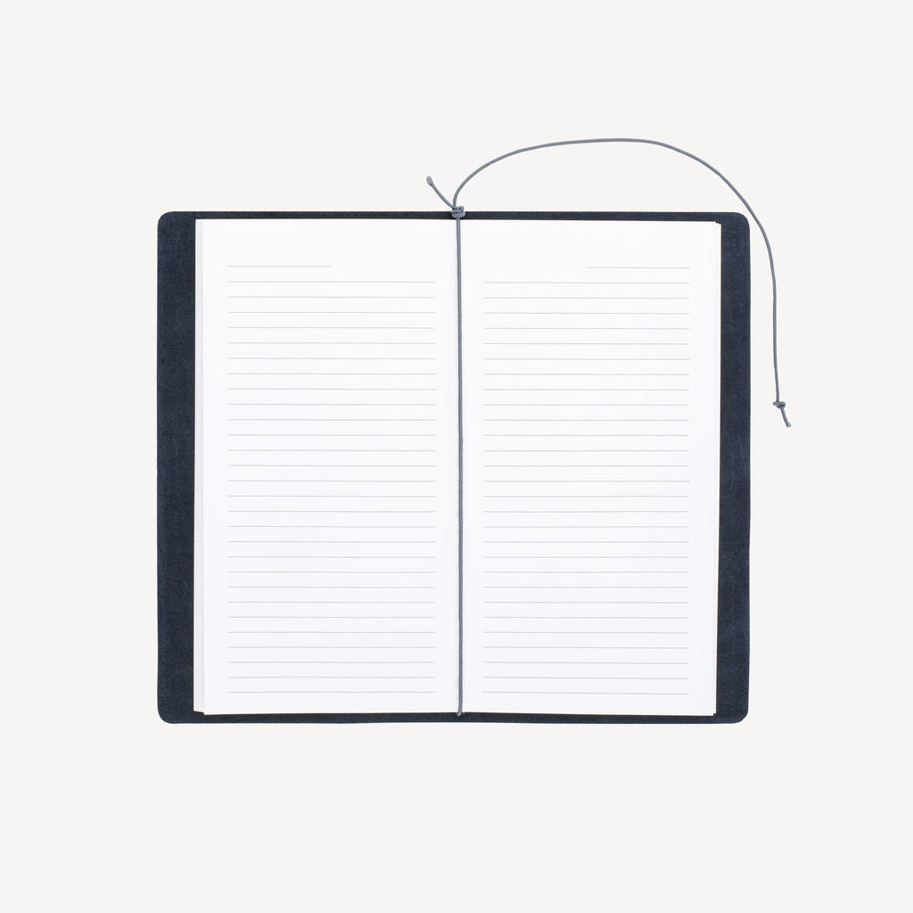 The CRESTWOOD™ Refillable Traveler's Journal - Indigo