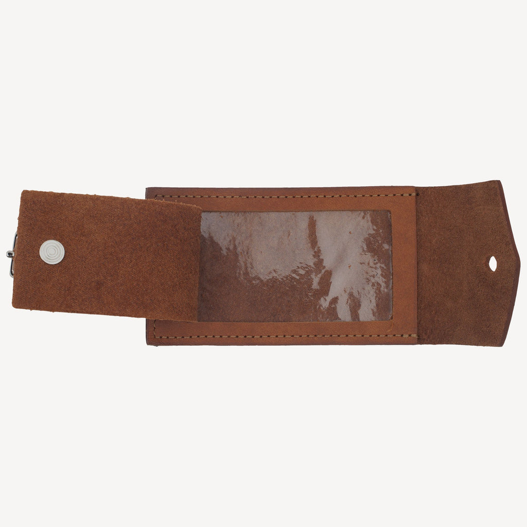 The ASHCREEK™ Luggage Tag - Cognac