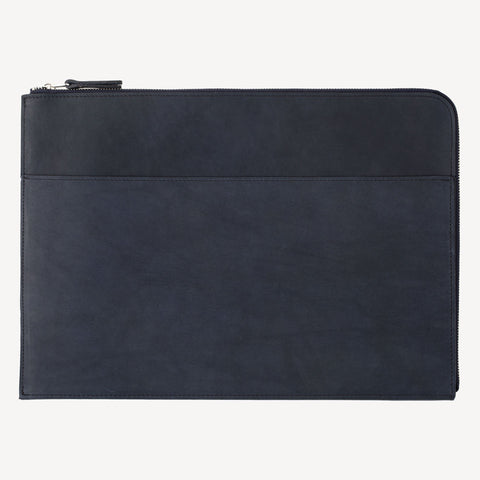 The FREMONT™ Zip-Around Pouch - Large - Indigo