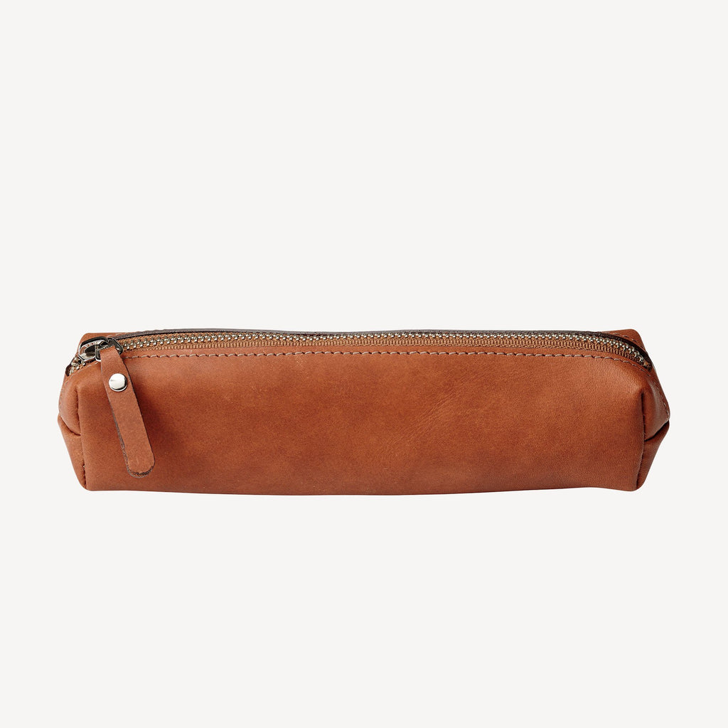 The FREMONT™ Pencil Pouch - Cognac
