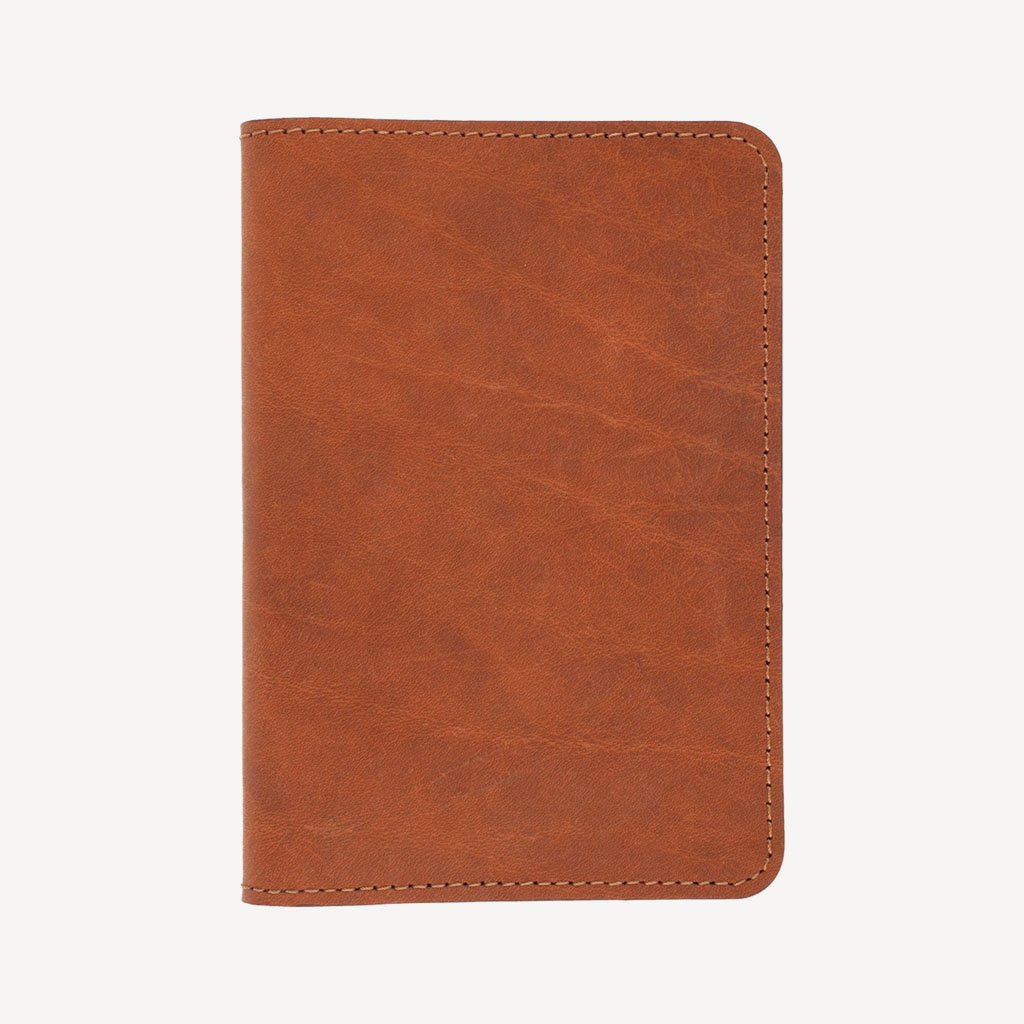 The SAND POINT™ Passport Holder - Cognac