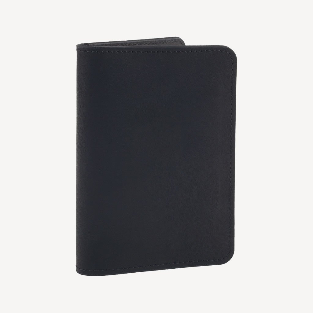 Upright view of The SAND POINT™ Passport Holder - Black