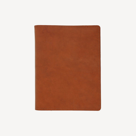 aerial view of The MERCER™ Refillable Journal - Large - Tan
