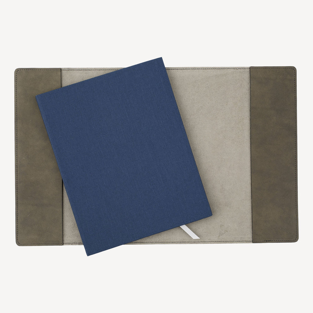 The MERCER™ Refillable Journal Bundle - Large - Slate Grey