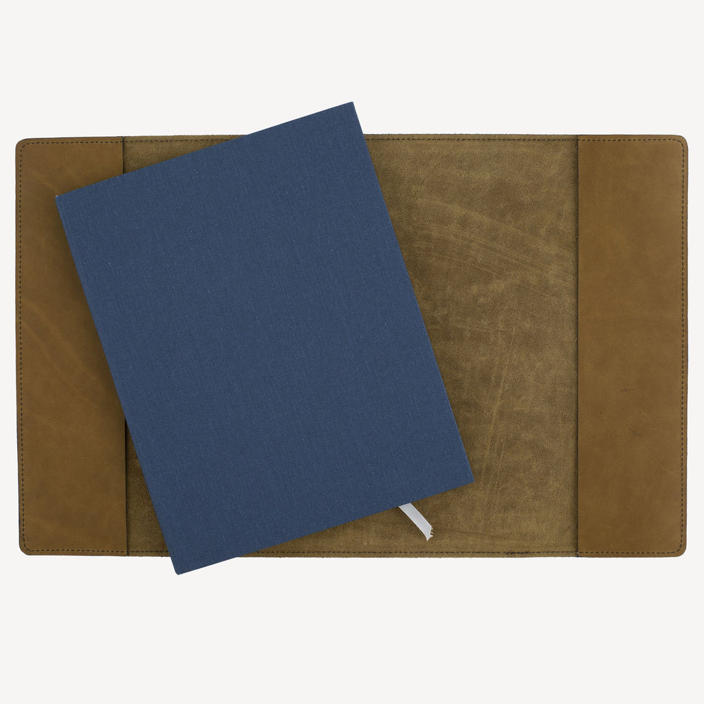 The MERCER™ Refillable Journal - Large - Olive