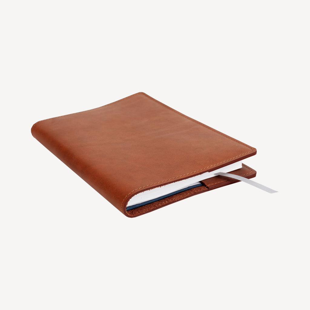 The NORTHGATE™ Refillable Academic Year 2018-19 Agenda - Small - Cognac