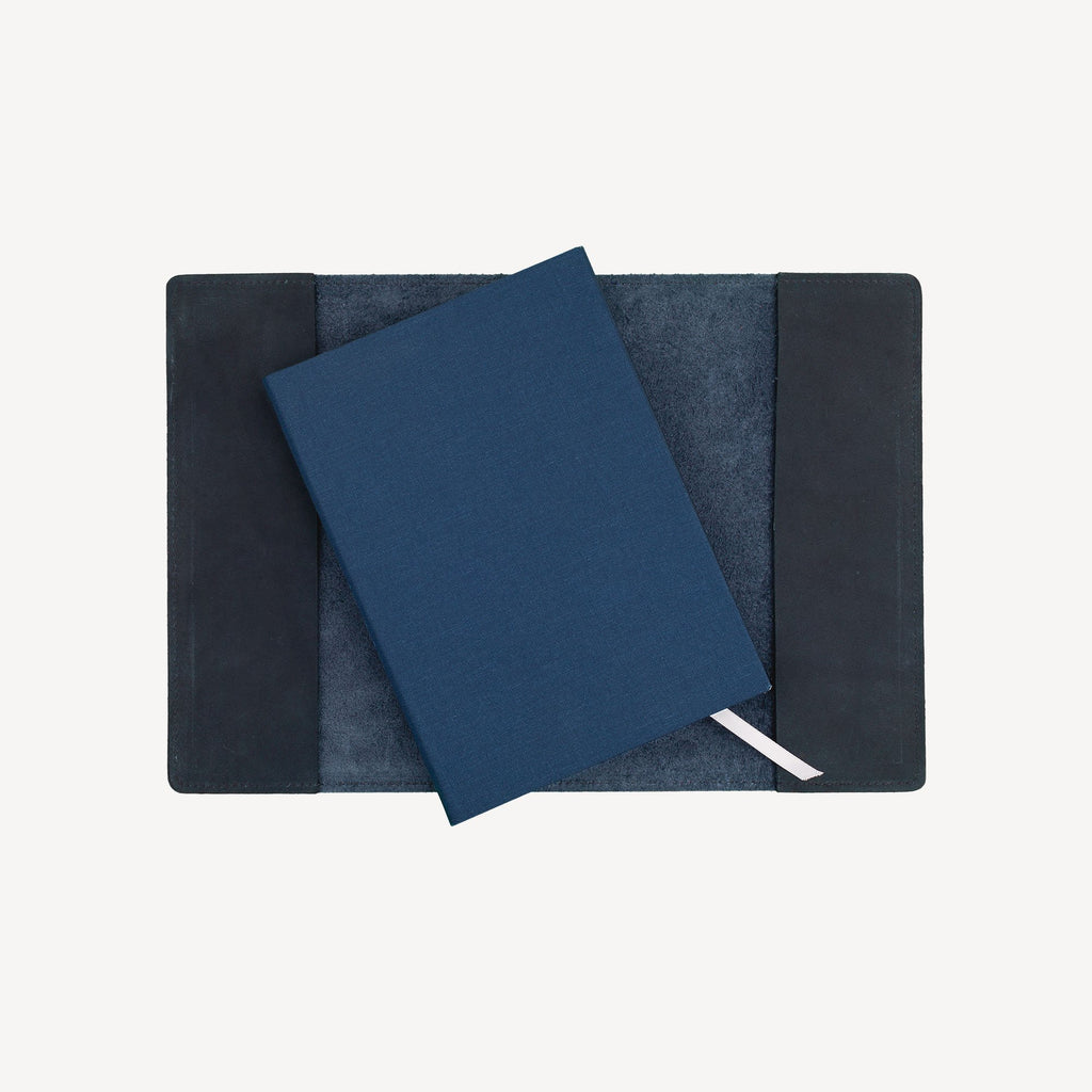 The MERCER™ Refillable Journal - Small - Midnight