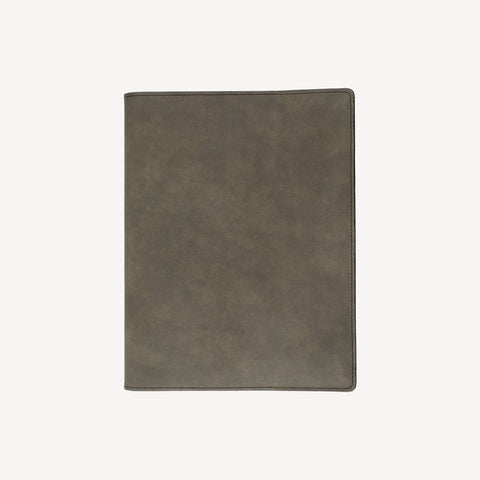 The MERCER™ Refillable Journal - Large - Slate Grey