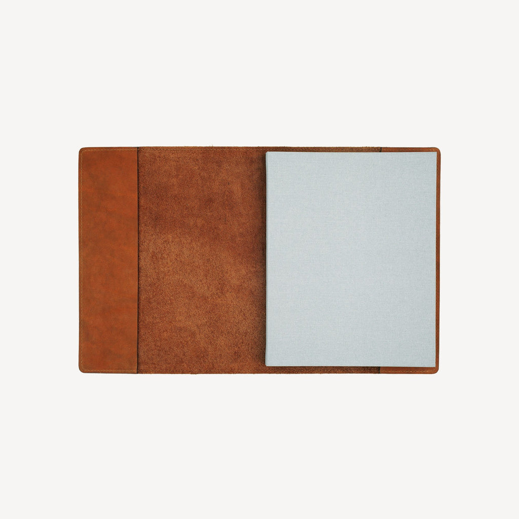 The MERCER™ Refillable Journal - Small - Cognac