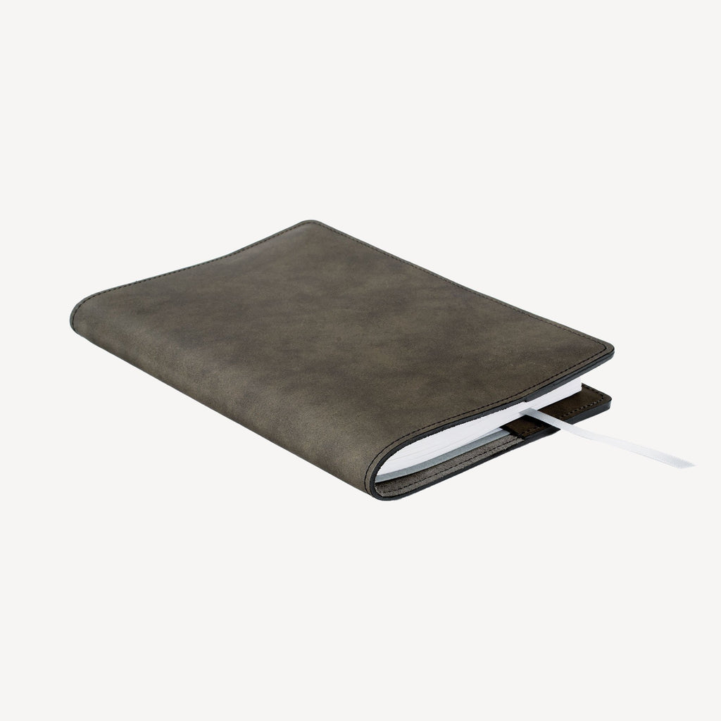 The MERCER™ Refillable Journal - Small - Slate Grey