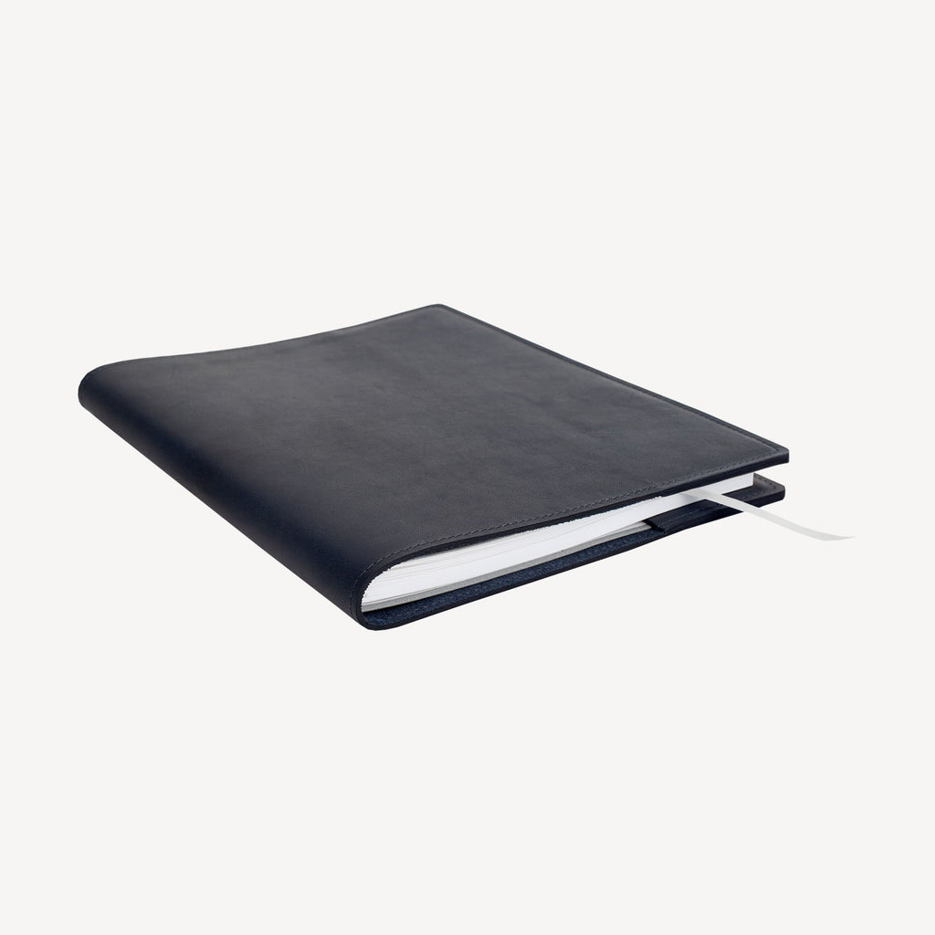 The MERCER™ Refillable Journal - Small - Indigo