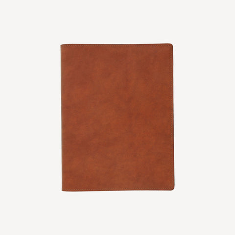 aerial view of The MERCER™ Refillable Sketchbook - Tan
