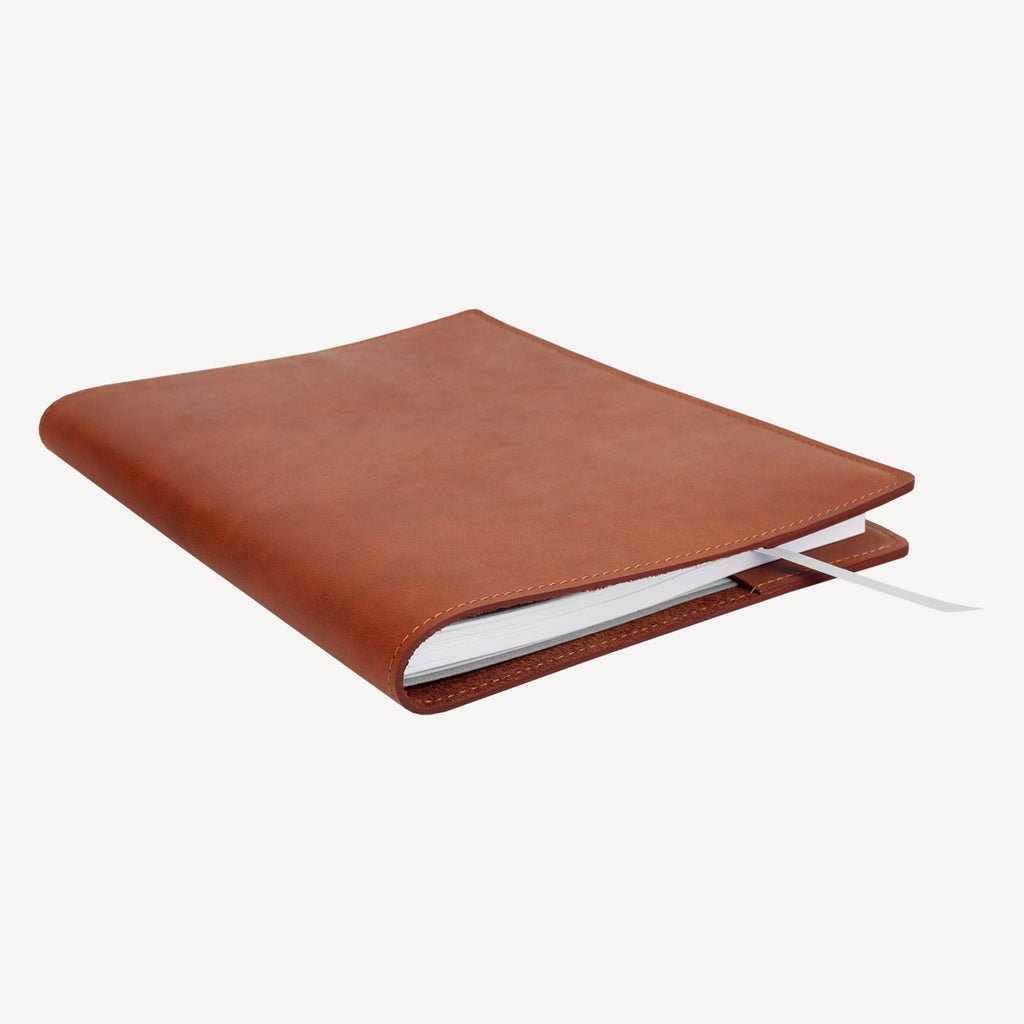 The NORTHGATE™ Refillable 2019 Agenda - Large - Cognac