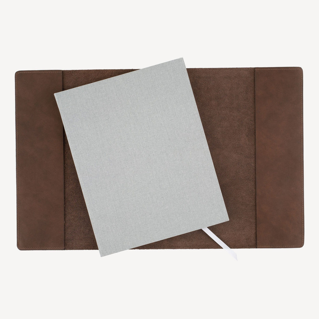 The MERCER™ Refillable Sketchbook - Chocolate