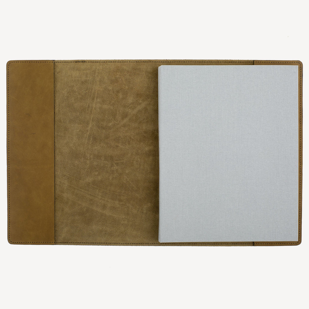 The MERCER™ Refillable Sketchbook - Olive