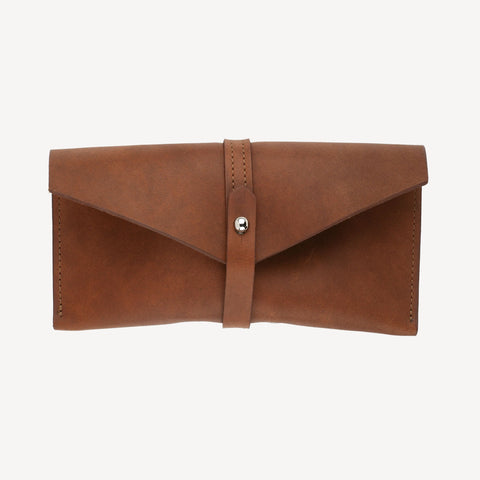 The SABIN™ Glasses Case - Cognac