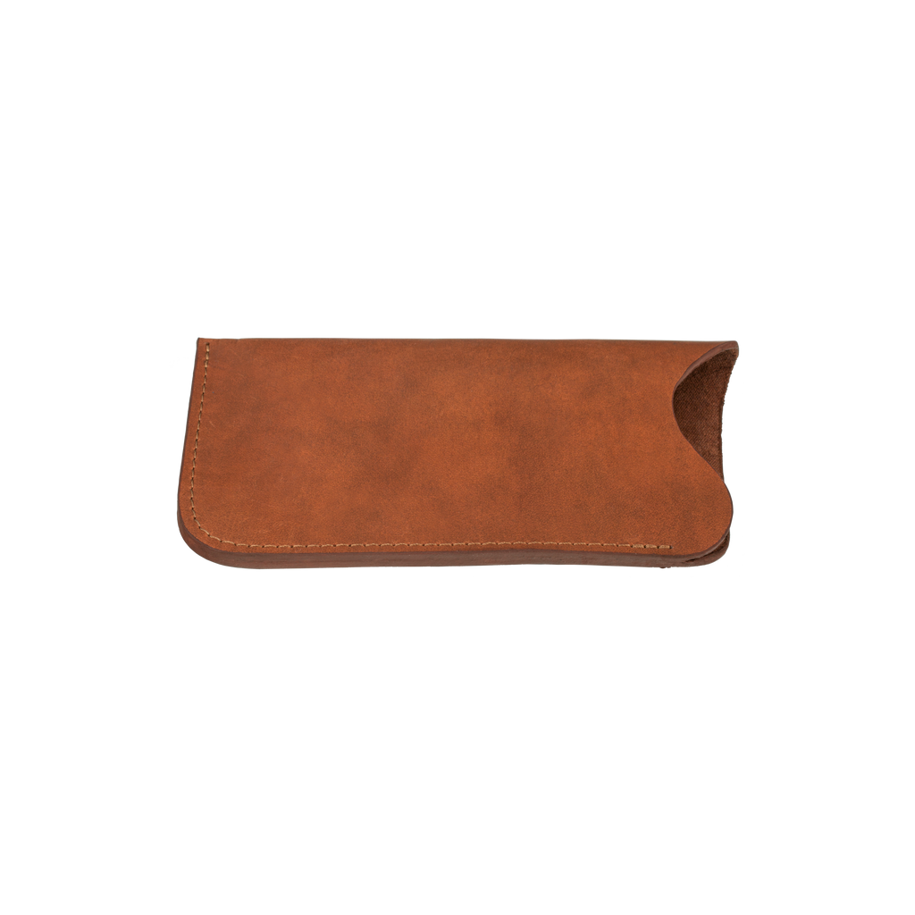 The SEAVIEW™ Eyeglass Sleeve - Cognac