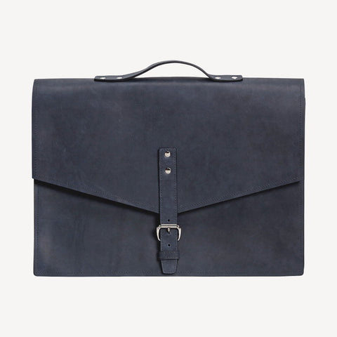 The REDMOND SATCHEL™ - Medium - Indigo