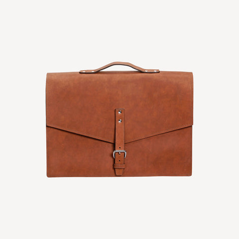 The REDMOND SATCHEL™ - Small - Cognac