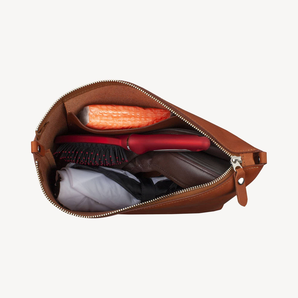 The DAWSON™ Accessory Pouch - Large - Cognac
