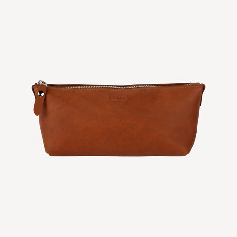 The DAWSON™ Cosmetics Pouch - Cognac