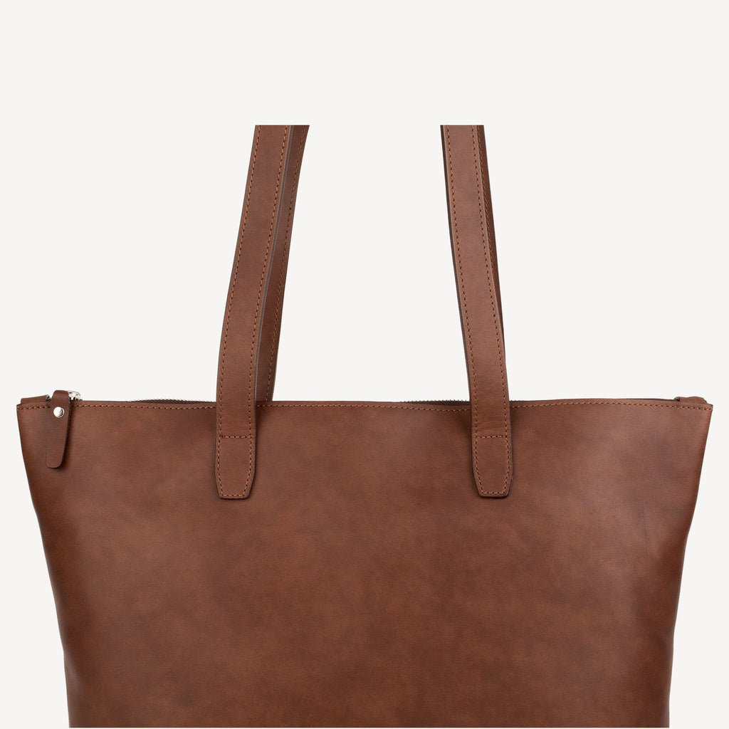 The BALLARD TOTE™ - Chocolate