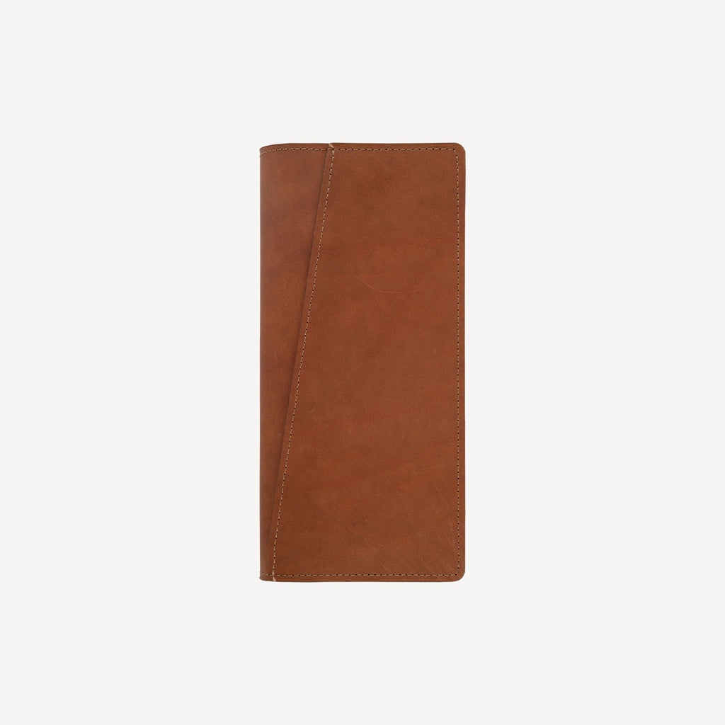 front view of The LAKEWAY™ Travel Wallet - Tan