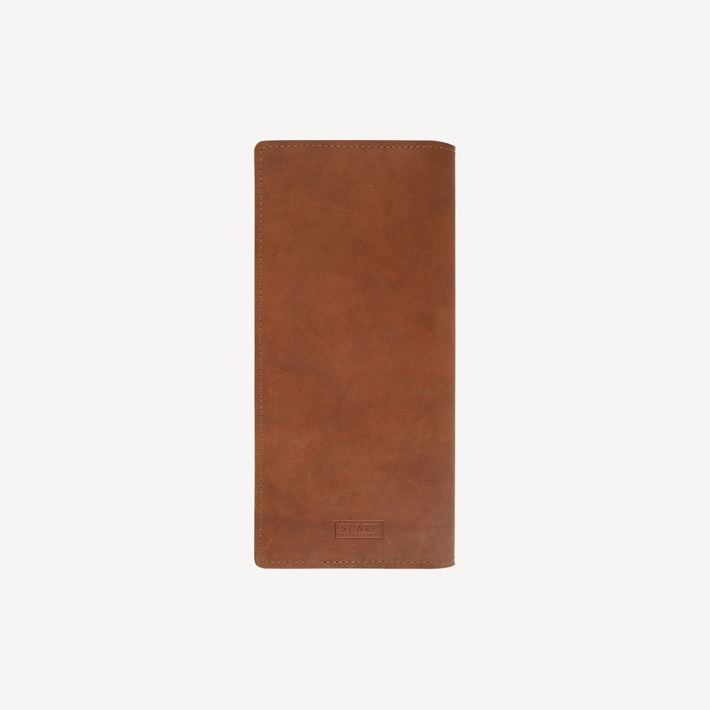 back view of The LAKEWAY™ Travel Wallet - Tan