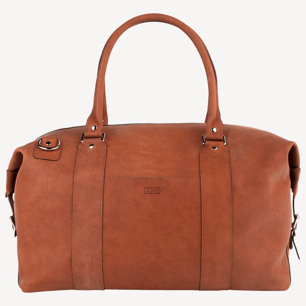 The MADRONA™ Duffel - Cognac