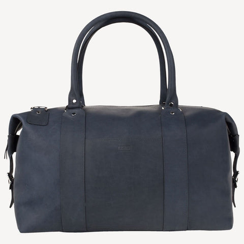 front view of The MADRONA™ Duffel - Blue