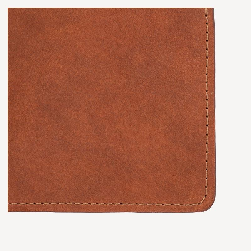 The DELRIDGE™ Bi-fold Wallet - Cognac