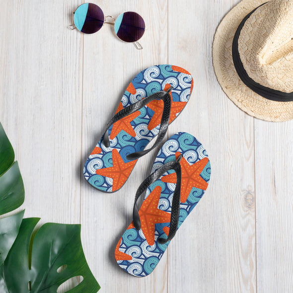 Starfish Dance Flip-Flops