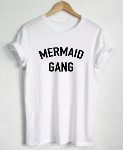 MERMAID GANG Statement T-shirt