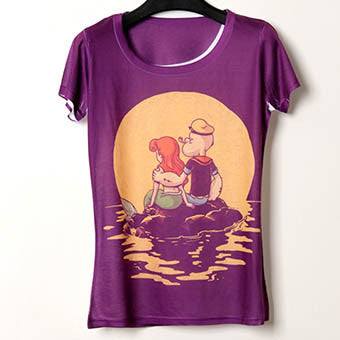 Sailor & Mermaid Graphic Tee
