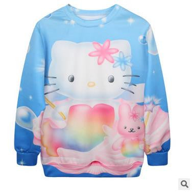 HELLO KITTY MERMAID Pullover
