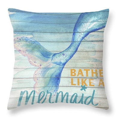 Mermaid Tail Tale Pillow
