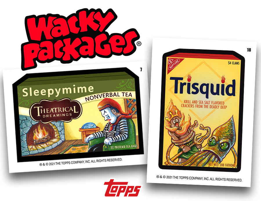 February Wackys at Topps!